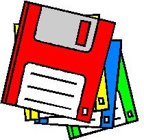 computer disks clip art ms